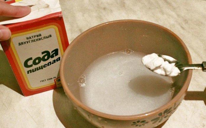 Солевой раствор для зубов и десен